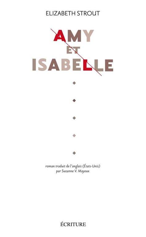 livre amy  isabelle elizabeth strout ecriture