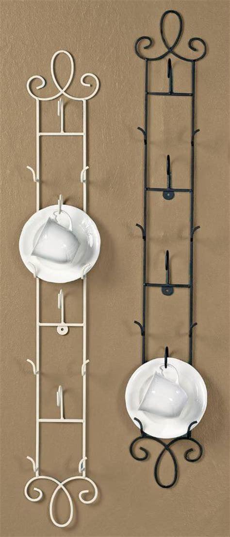 cup  saucer racks  rails augusta vertical tea cup  saucer stands  hangers