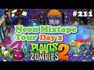 Plants vs Zombies 2 Neon Mixtape Tour Day 2 Turnê