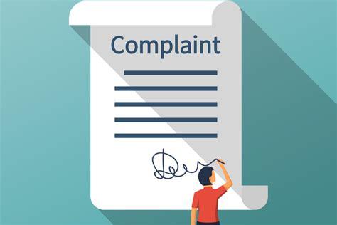 bank complaint letter template complaints number