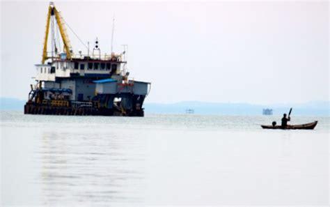 nelayan dukung gubernur hentikan tambang laut bangka