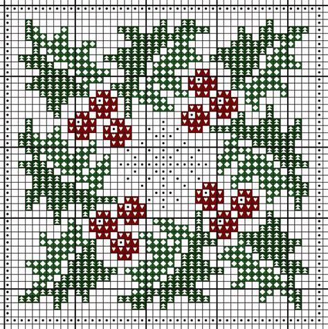 tappeti a punto croce schema punto croce agrifoglio schema crossstich