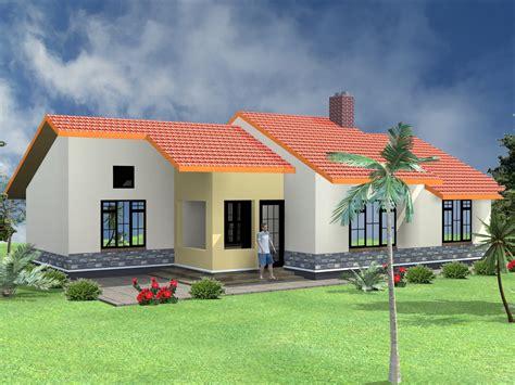 simple  bedroom bungalow house plans design hpd consult