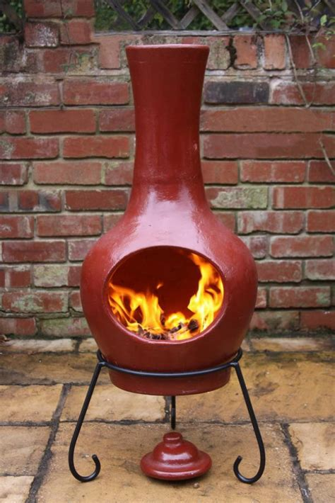 Chiminea Shop by Modern Clay Chimenea Clay Chiminea Pit Patio