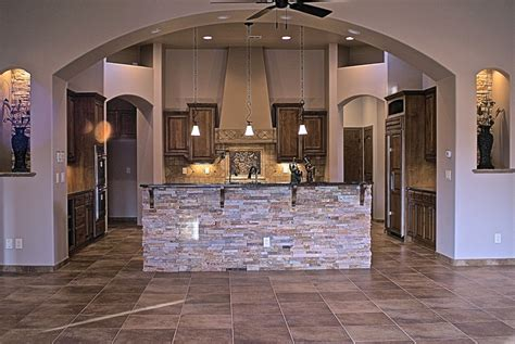kitchen islands with sink custom home kitchens michael homes custom builders