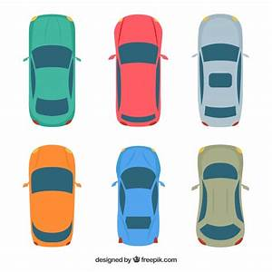 Voiture Vu De Haut : vue de dessus de six voitures t l charger des vecteurs gratuitement ~ Medecine-chirurgie-esthetiques.com Avis de Voitures