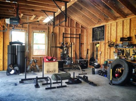 garage crossfit gym setup timber gyms rogue fitness outhouse build theathleticbuild awesome ups own calisthenics drool want equipment stuff weight