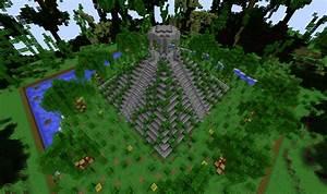 Minecraft Build Jungle Mayan Temple CubeCraft Games