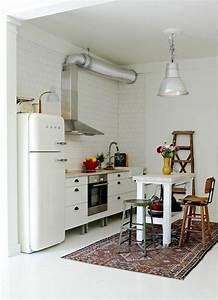 comment amenager une petite cuisine idees en photos With meuble pour petite cuisine 9 les meubles sous pente solutions creatives archzine fr