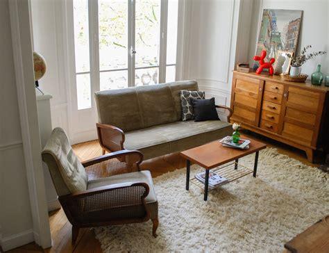 ensemble canapé fauteuil ensemble canapé et fauteuil vintage mes petites puces