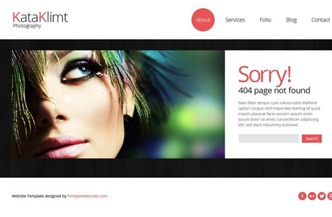 bootstrap  responsive template photography