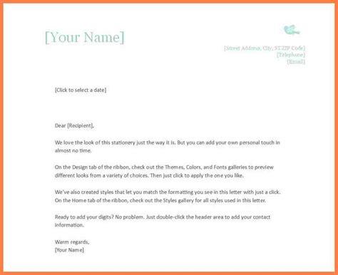 free personal letterhead 10 personalized letterhead templates company letterhead