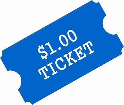 Tickets Clipart Ticket Carnival Raffle Transparent Frames