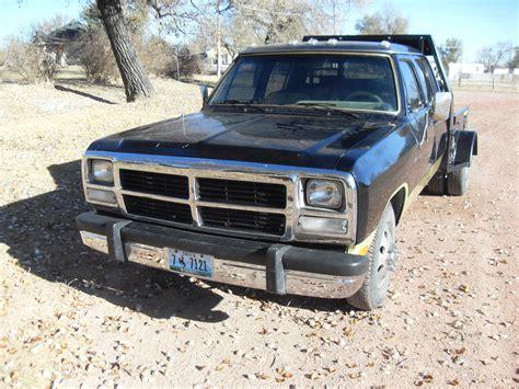 Customized 1992 Dodge Ram 3500 CREW CAB for sale