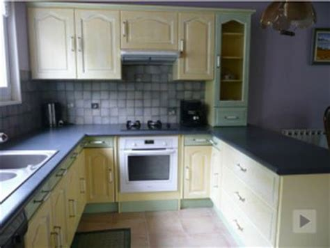 renovation meuble cuisine en chene peindre meuble de cuisine en chene images