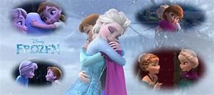 Anna and Elsa Frozen Wallpaper - WallpaperSafari