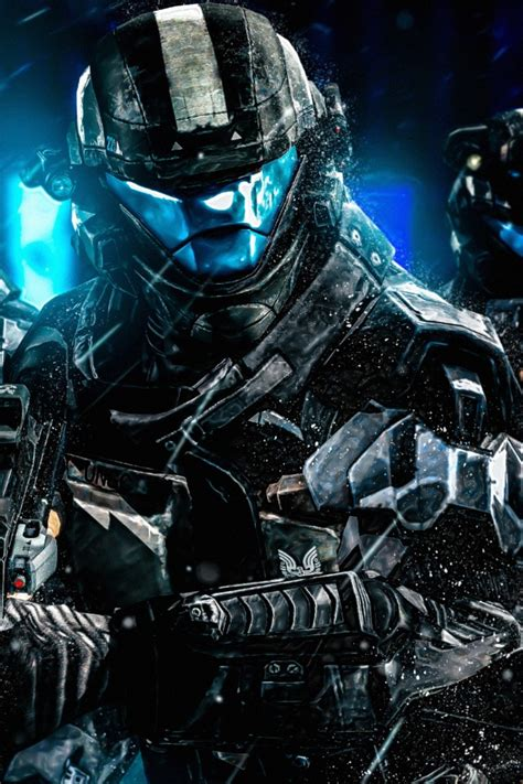 wallpaper halo  odst squad soldiers armour games