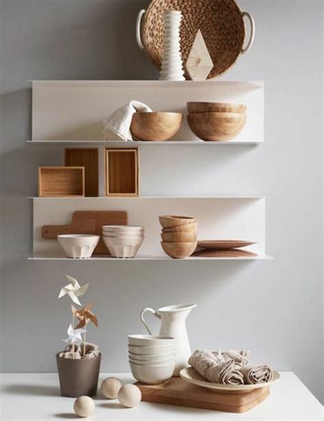 meubles muraux cuisine le rangement mural comment organiser bien la cuisine
