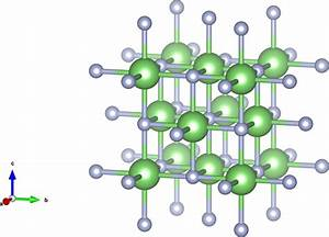 Unit Cell Of The Insulator Lif In Halite Structure  Li