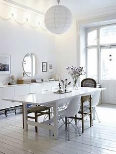 Chaise Salle A Manger Blanche : salle a manger blanche chaise coque blanche et chaises ~ Melissatoandfro.com Idées de Décoration