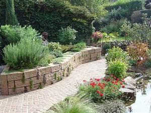 Gartengestaltung Toskana Stil : gartengestaltung mit beton gartenebenen mit ~ Articles-book.com Haus und Dekorationen