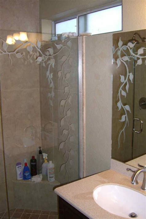glass mirrors for bathrooms etched glass bathroom mirror sans soucie glass 18482