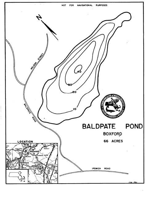 baldpate pond map boxford ma