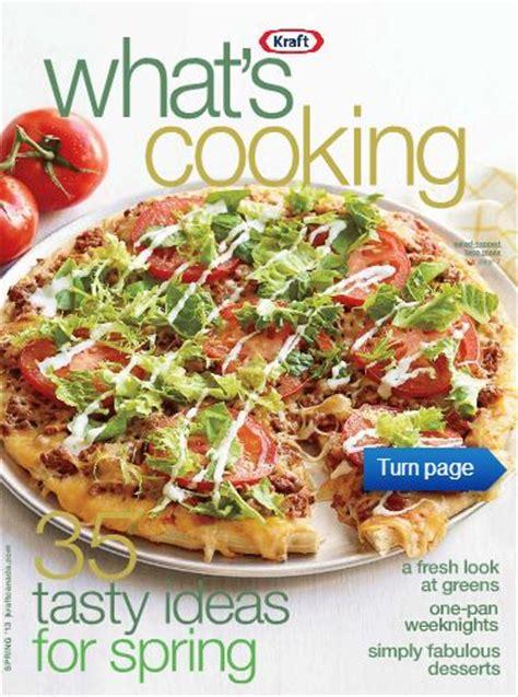 cuisine kraft free digital edition of kraft what s cooking