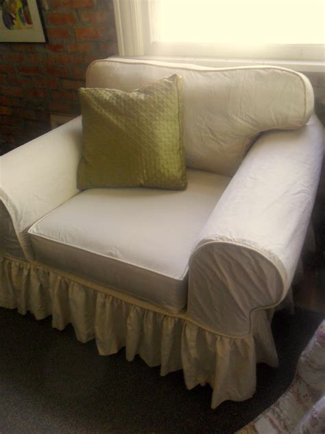 custom slipcovers by shelley oversized chair and some dvd testimonials