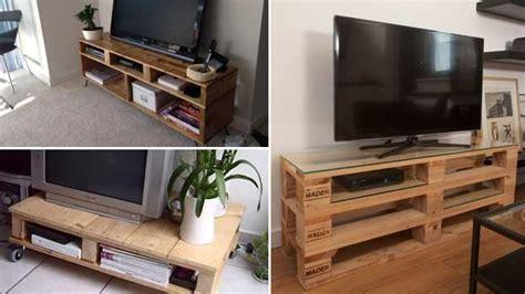 mobiletti porta tv realizzati  bancali  legno bcasa