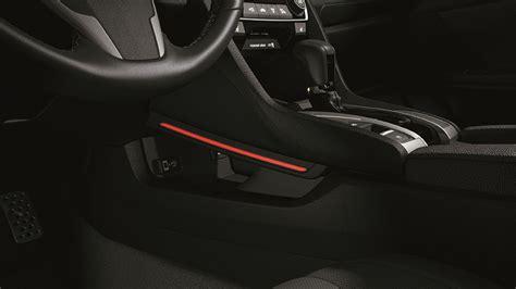 honda civic console illumination kit red