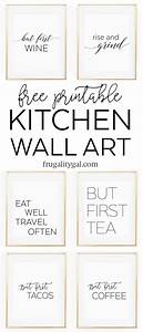 17 best ideas about printable kitchen prints on pinterest With 4 easy steps for kitchen wall decor