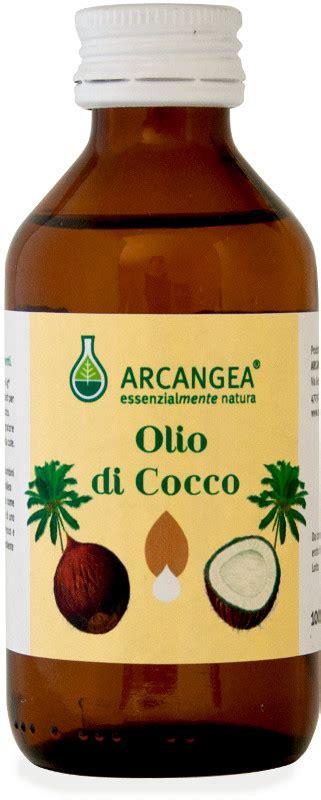 olio di cocco biologico alimentare olio di cocco biologico arcangea