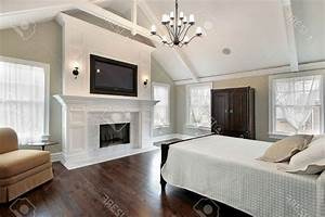 Luxury Master Bedrooms With Fireplaces Srau Home Designs