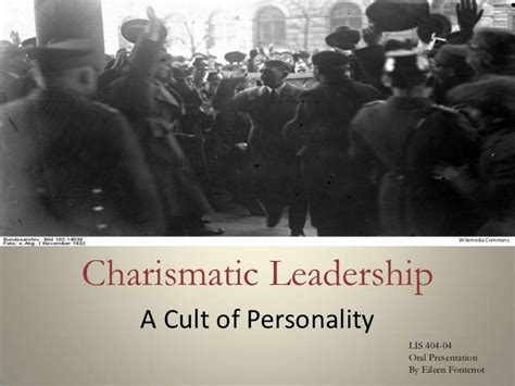 charismatic leadership  management
