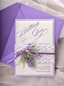 custom listing 100 lavender wedding invitations lace With lavender themed wedding invitations