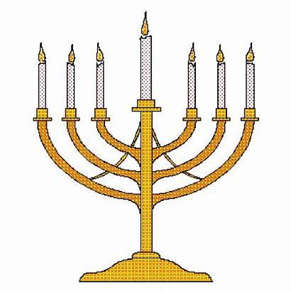 Menorah Clipart Candles Candle Revelation Jesus Candlestick