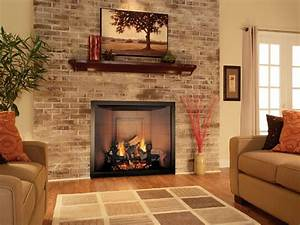 Living Room : Attractive Family Room Corner Fireplace