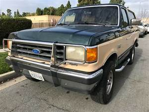 1991 Ford Bronco XLT ....5.8 !!! Clean !!! No rust !!! - Classic Ford Bronco 1991 for sale
