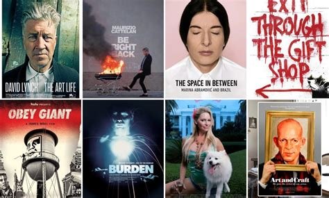 exhilarating art inspired documentaries  stream