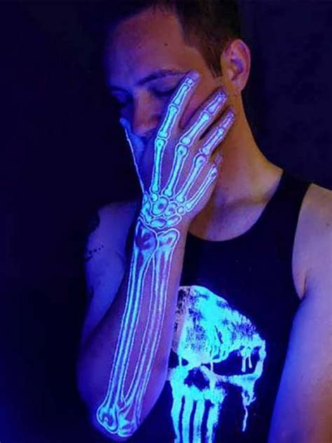 20 Cool Glow In The Dark Tattoos That You Should Consider