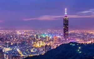 Taipei 101 City View Wallpaper