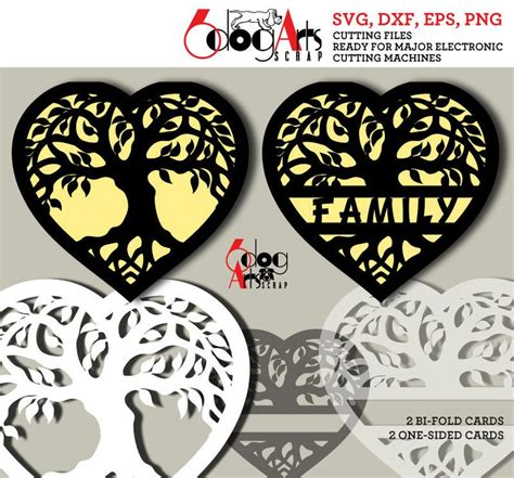 Freesvg.org offers free vector images in svg format with creative commons 0 license (public domain). Tree of Life Family Heart Digital Cut Files SVG DXF ...