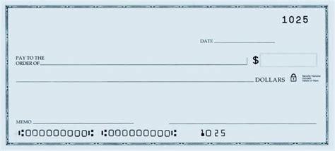 template   blank check printable personal blank check