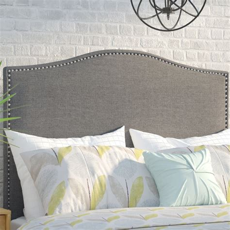 mercury row zoe upholstered panel headboard reviews