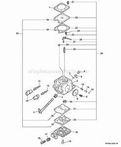 Echo Cs-305 Parts List And Diagram -  04001001