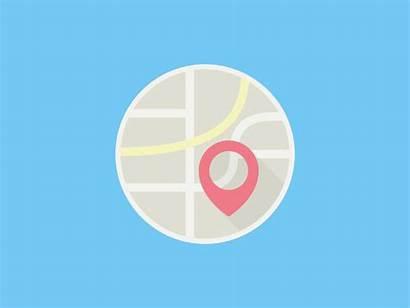 Web Icon Map Icons Animations Motion Animated
