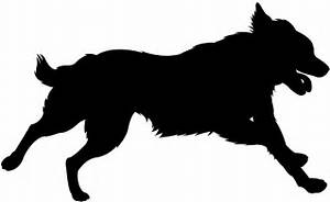 Dog Running Silhouette | Free vector silhouettes