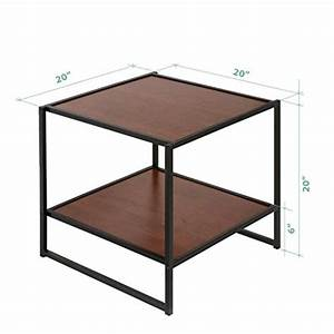 Modern studio collection rectangular coffee table two for Two square coffee tables side by side
