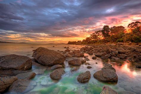 Taroona In Landscape, Hobart, Tasmania  Hdr Image, I
